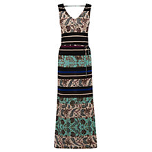 Buy Warehouse Folk Utility Maxi Dress, Multi Online at johnlewis.com