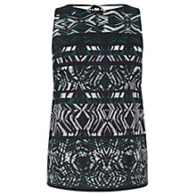 Buy Warehouse Abstract Tribal Print Top, Multi Online at johnlewis.com