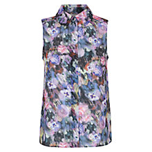 Buy Hobbs Highland Top, Purple Multi Online at johnlewis.com