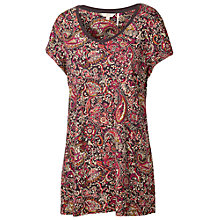 Buy Fat Face Durham Batik Paisley Tee, Multi Online at johnlewis.com