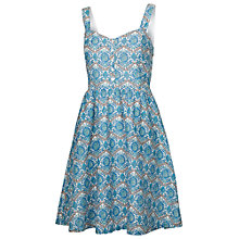 Buy Fat Face Hemsley River Geo Dress, Blue Online at johnlewis.com