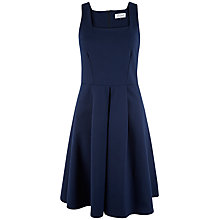 Buy Closet Square Neck Midi Dress, Navy Online at johnlewis.com