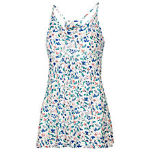 Buy Fat Face Racer Bird Bloom Cami Top, White Online at johnlewis.com