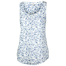 Buy Fat Face Caitlyn Cami Top, White Online at johnlewis.com