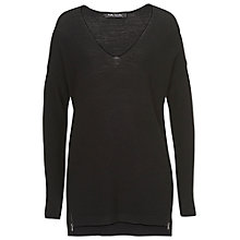 Buy Betty Barclay Long knitted Tunic Top, Black Online at johnlewis.com