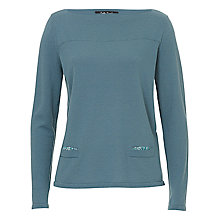 Buy Betty Barclay Slash Neck Boxy Knit Jumper, Mint Online at johnlewis.com