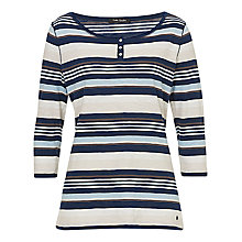 Buy Betty Barclay Striped Top, Dark Blue/White Online at johnlewis.com