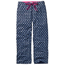 Buy Fat Face Elephant Jersey Pyjama Bottoms, Navy Online at johnlewis.com