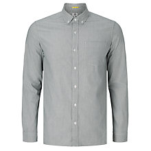 Buy Kin by John Lewis Jacquard Chambray Shirt, Grey Online at johnlewis.com