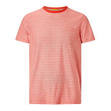 Buy Kin by John Lewis Ombre Stripe T-Shirt, Orange Online at johnlewis.com