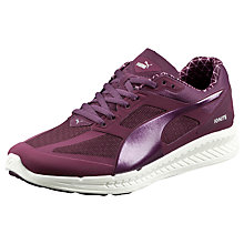 Buy Puma Ignite Pwrwarm Women's Neutral Running Shoes, Plum Online at johnlewis.com