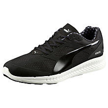 Buy Puma Ignite Pwrwarm Men's Neutral Running Shoes, Black/White Online at johnlewis.com