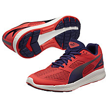 Buy Puma Ignite Women's Neutral Running Shoes, Red/Blue Online at johnlewis.com