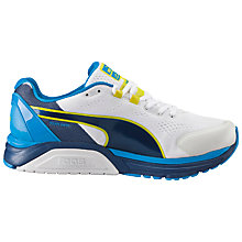 Buy Puma Faas 600 V2 Men's Running Shoes, White/Blue Online at johnlewis.com