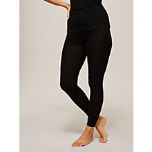 Buy John Lewis Thermal Silk Leggings, Black Online at johnlewis.com