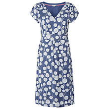 Buy White Stuff Trailing Leaves Dress, Uniform Blue Online at johnlewis.com
