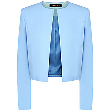 Buy Jaeger Cropped Jacket, Grey Online at johnlewis.com