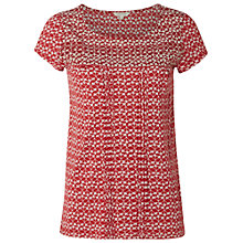 Buy White Stuff Chloe Jersey T-Shirt, Rustic Jam Online at johnlewis.com