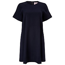 Buy Phase Eight Zelda Swing Dress, Pitch Blue Online at johnlewis.com
