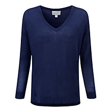 Buy Pure Collection Jensen Sweater, Sapphire Online at johnlewis.com