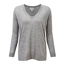 Buy Pure Collection Kelfield Sweater, Heather Smoke Online at johnlewis.com
