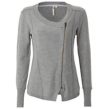 Buy White Stuff Patchwork Cardigan, Grey Marl Online at johnlewis.com