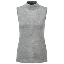 Buy Pure Collection Ickworth Tank Top, Heather Smoke Online at johnlewis.com