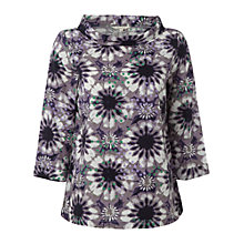 Buy White Stuff Kaleido Spot Top, Midnight Mauve Online at johnlewis.com