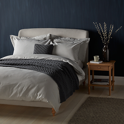 John Lewis Croft Collection Herringbone Stripe Bedding