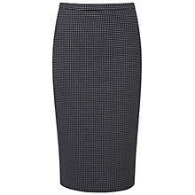 Buy Pure Collection Kenilworth Pencil Skirt, Mono Jacquard Online at johnlewis.com