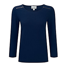 Buy Pure Collection Textured Zip Top Online at johnlewis.com