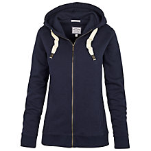 Buy Fat Face Original Slim Zip Through Hoodie, Navy Online at johnlewis.com
