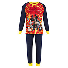 Buy Star Wars Pyjama Set, Navy/Red Online at johnlewis.com