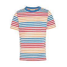 Buy John Lewis Boys' Multi Stripe T-Shirt Online at johnlewis.com