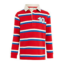 Buy John Lewis Boys' Stripe Rugby Shirt Online at johnlewis.com