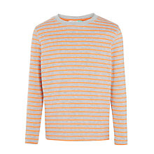 Buy John Lewis Boys' Breton Stripe Long Sleeved T-Shirt Online at johnlewis.com