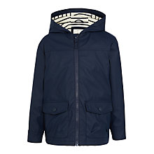 Buy John Lewis Boys' Panthro Rubber Mac, Navy Online at johnlewis.com
