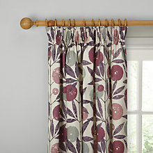 Buy Scion Blomma Lined Pencil Pleat Curtains Online at johnlewis.com