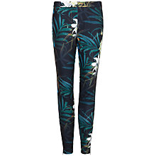 Buy Ted Baker Thirza Twilight Floral Leggings, Black Online at johnlewis.com