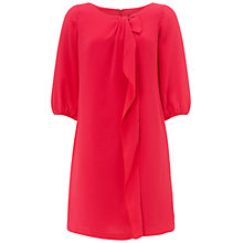 Buy Adrianna Papell Ruffle Front Dress, Geranium Online at johnlewis.com