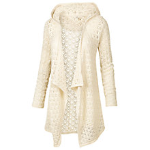 Buy Fat Face Telford Beach Hoodie, Ivory Online at johnlewis.com