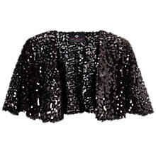 Buy Ariella Mimi Sequin Bolero, Black Online at johnlewis.com