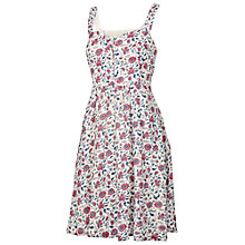Buy Fat Face Hemsley Indian Garden Dress, Ivory Online at johnlewis.com