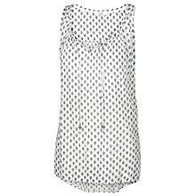 Buy Fat Face Kingston Diamond Tunic, Ivory Online at johnlewis.com