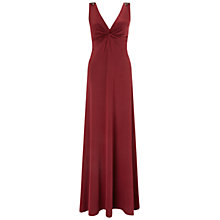 Buy Ariella Ursula Maxi Dress, Merlot Online at johnlewis.com