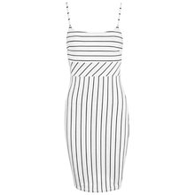 Buy Miss Selfridge Strappy Bodycon Dress, Multi Online at johnlewis.com