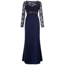 Buy Ariella Sloane Maxi Dress, Navy Online at johnlewis.com