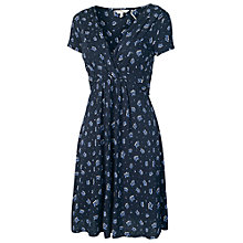 Buy Fat Face Harriet Petal Ditsy Dress, Navy Online at johnlewis.com