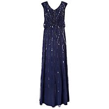 Buy Ariella Petulia Blouson Maxi Dress, Navy Online at johnlewis.com