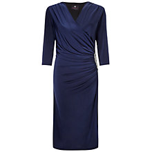 Buy Ariella Rhoda Short Wrap Dress, Navy Online at johnlewis.com